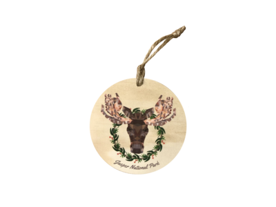 Ornament - Holiday Moose