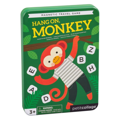 Magnetic Travel Game - Hang On Monkey