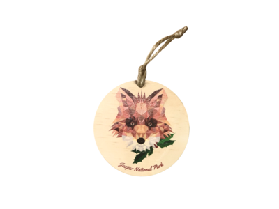Ornament - Holiday Fox