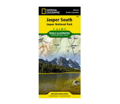 National Geographic Jasper South Map
