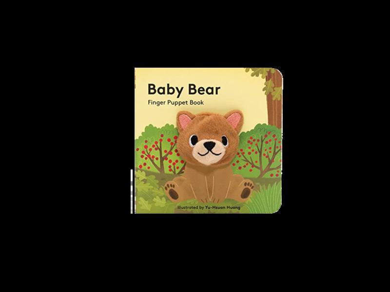 Baby Bear Finger Puppet Book