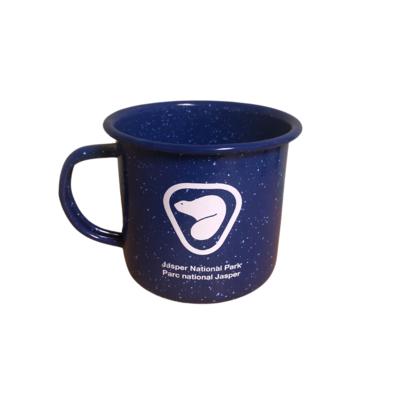 Parks Canada - Enamel Retro Beaver Logo Mug