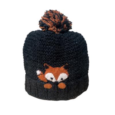 Ambler Kids Peek-A-Boo Fox Wool Toque
