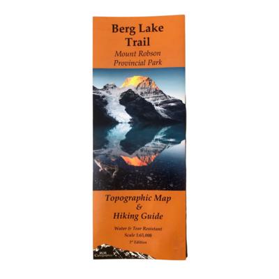 Berg Lake Trail Map & Hiking Guide