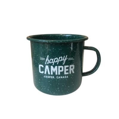 Mug - Enamel Happy Camper