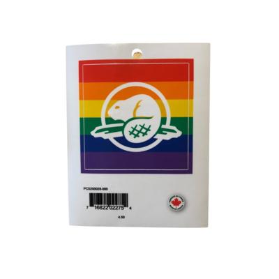 Parks Canada - Pride Beaver Decal
