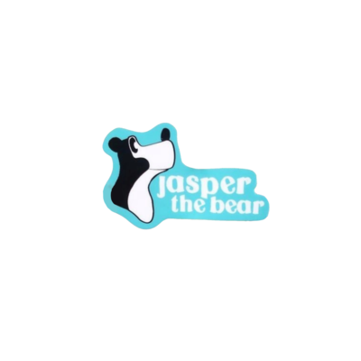 Jasper the Bear Sticker