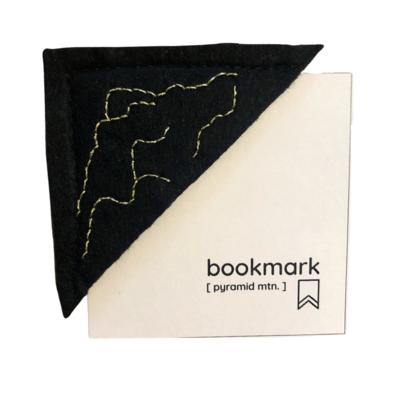 Bookmark - Felt Pyramid Mountain Outline