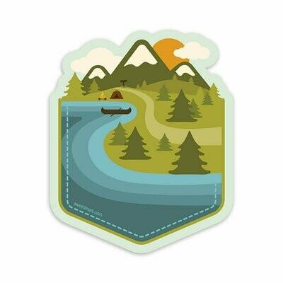 Adventure Pocket Sticker