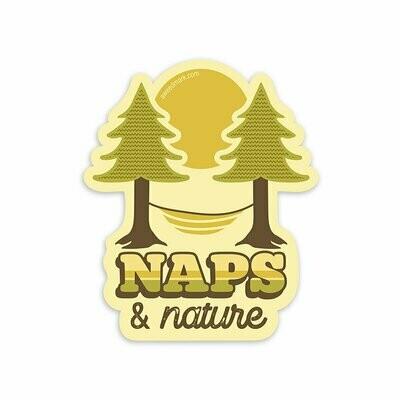 Naps & Nature Sticker