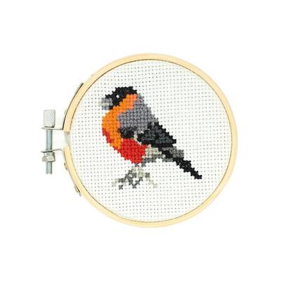 Mini Cross Stitch Kit - Bird