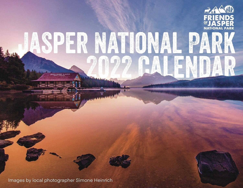 2022 Jasper National Park Calendar