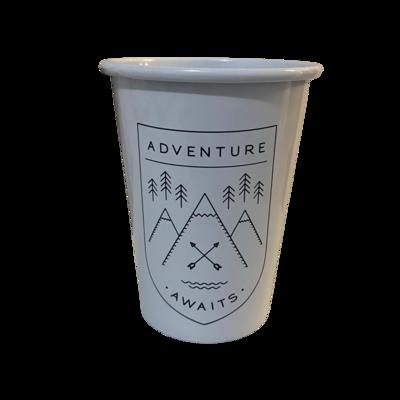 Tumbler - Enamel Adventure Awaits