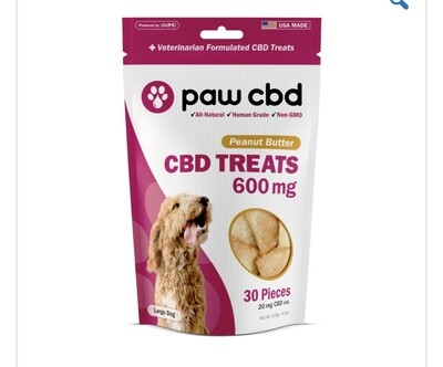 CBDMD Dog Treats 600 mg