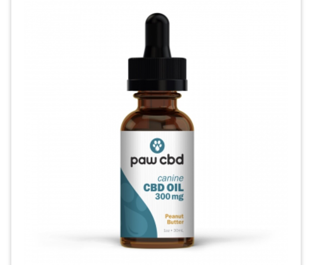 CBDMD Dog Oil Tincture 300mg
