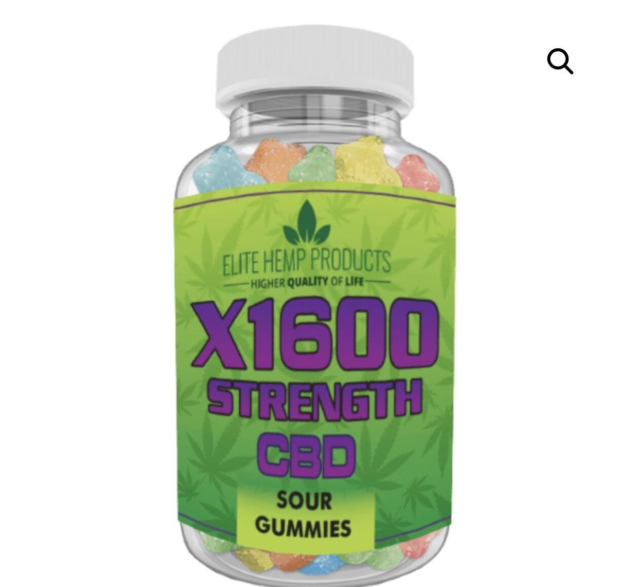 Elite Hemp 1600 mg gummies