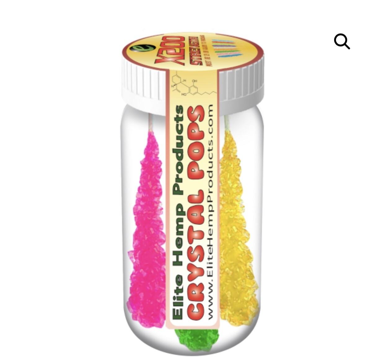 Elite Hemp 200 mg Lollipops