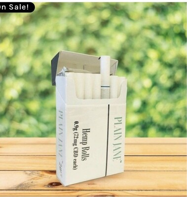 Plain Jane Cigs 10pk 720mg