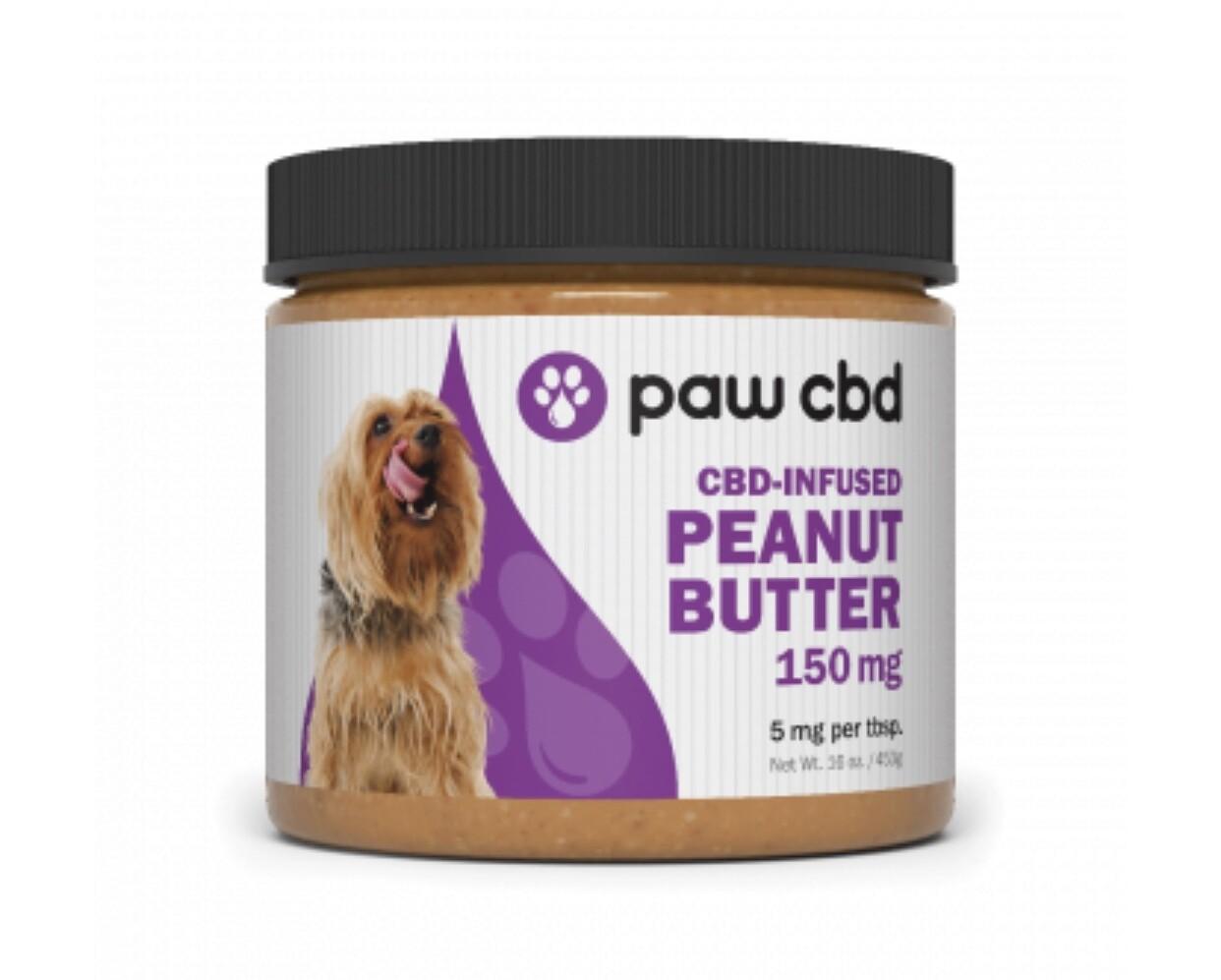 Paw CBD peanut butter 150 mg