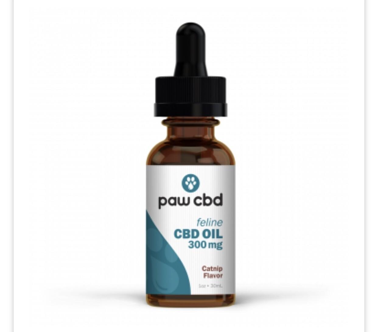 PawCBD 300 mg cat oil