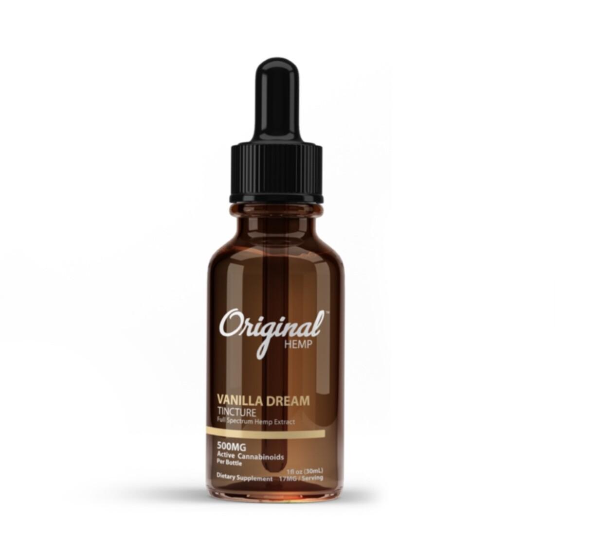 Original Hemp Vanilla Dream 500 mg
