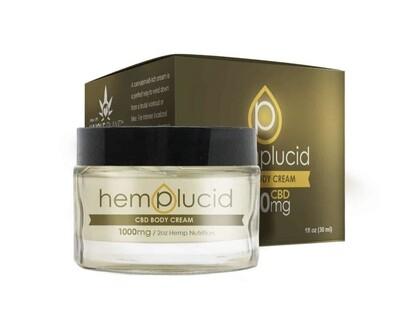 Hemplucid 1000 MG Cream