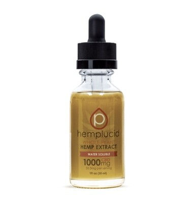 Hemplucid Water Soluble Tincture 1000mg