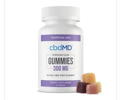 CBDMD 300 mg Gummies