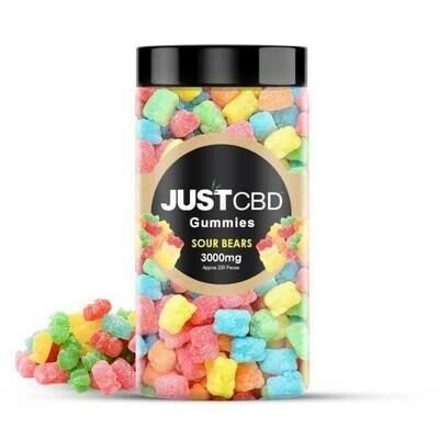 JustCBD 3000MG Sour Bears