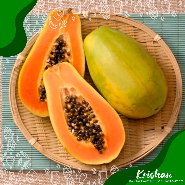 পাকা পেঁপে (Ripe Papaya)