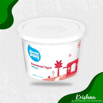 আড়ং মিষ্টি দই (Aarong sweetened yogurt) (500 ml)