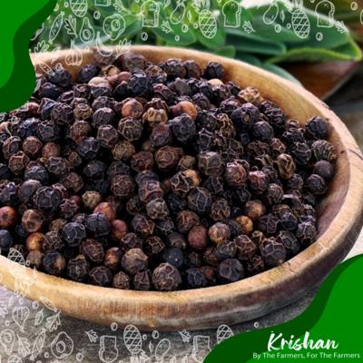 গোল মরিচ (Black pepper) (50 gm)