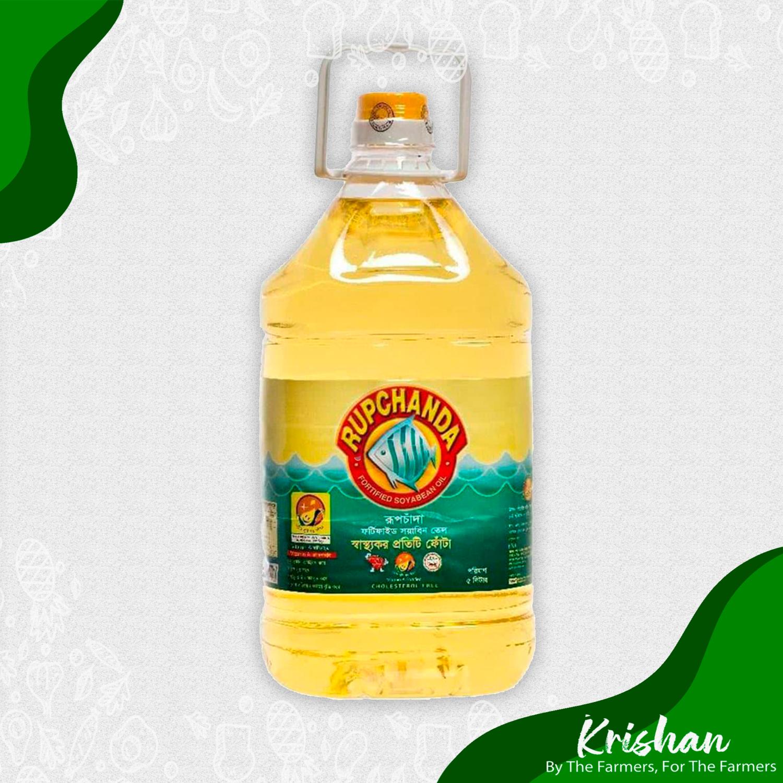 রুপচাঁদা সয়াবিন তেল (Rupchanda Soyabin Oil) (5L)