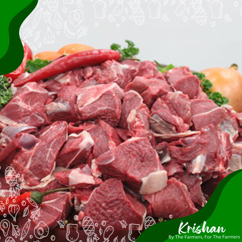 গরুর মাংস (হাড় সহ) (Beef, normal with bone)