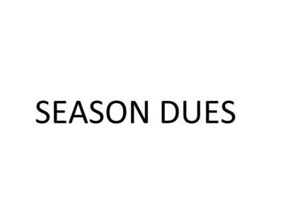 Season Dues Fall