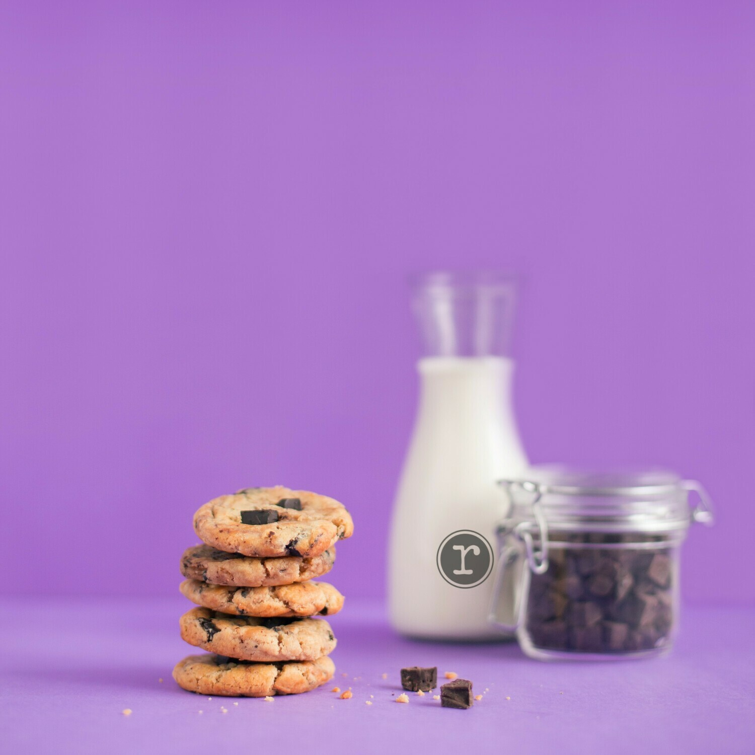 """Latte """"Choco Chip"""" Cookies CHEWY & CHUNKY"""