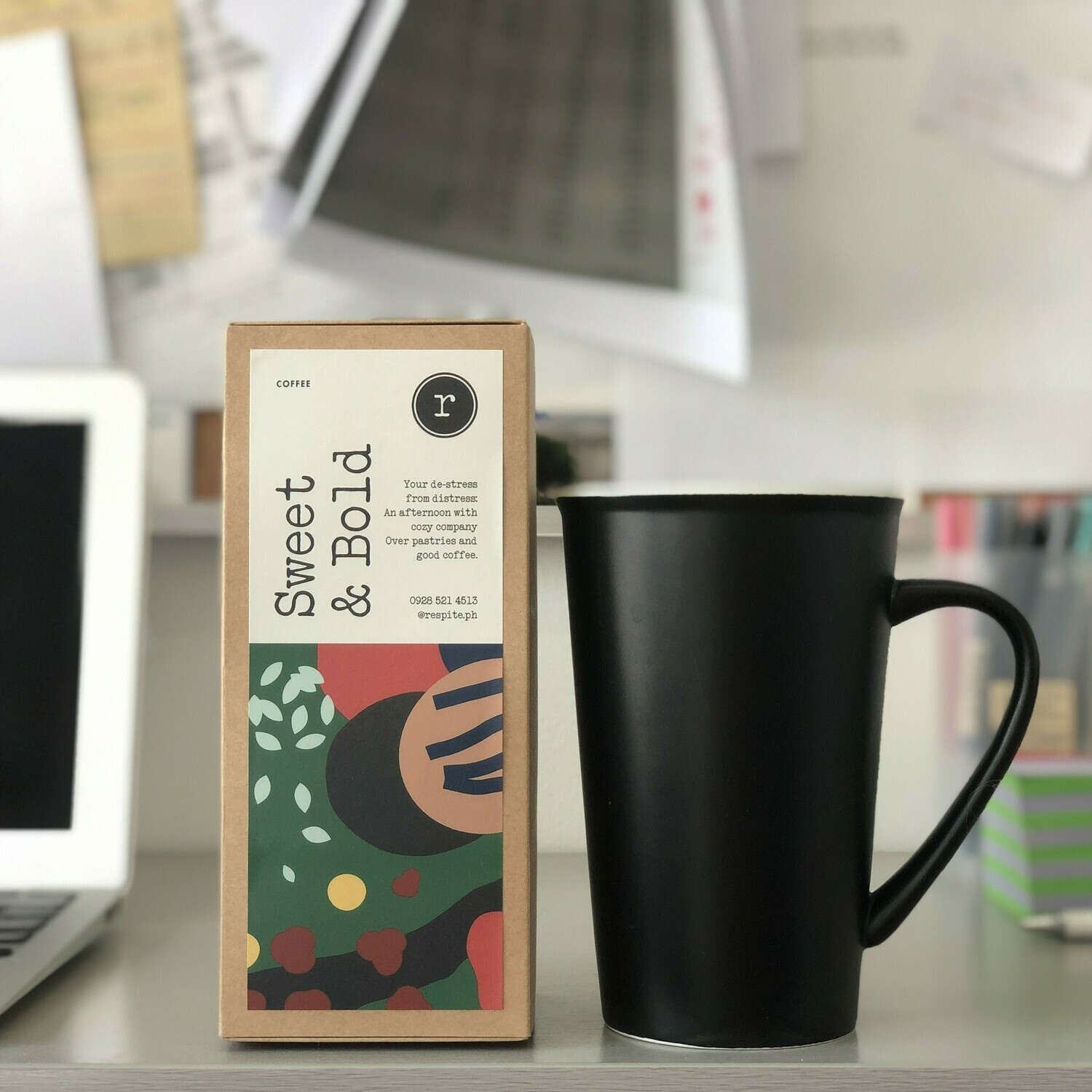 "Sweet & Bold Coffee Box (""tea bag"" format)"