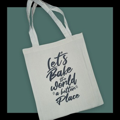 Let's Bake the World Tote Bag