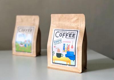 """12 """"Tea Bag"""" Pouch - Premium Arabica Coffee Beans"""