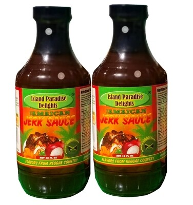Original Jerk Sauce 16 Fl Oz (2 Bottles)