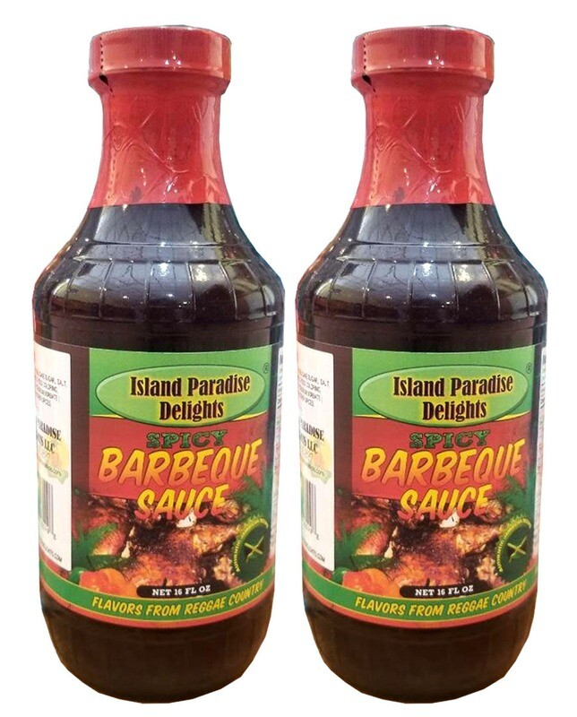Jamaican-Style Spicy Barbecue Sauce 16 Fl Oz (2 Bottles)