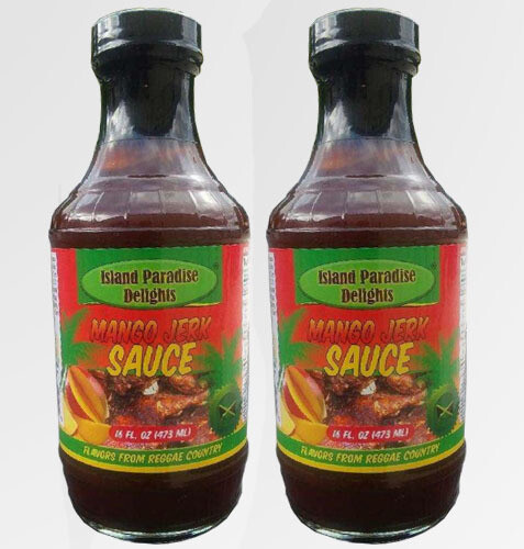 Jamaican Mango Jerk Sauce and Marinade - (2 Pack)