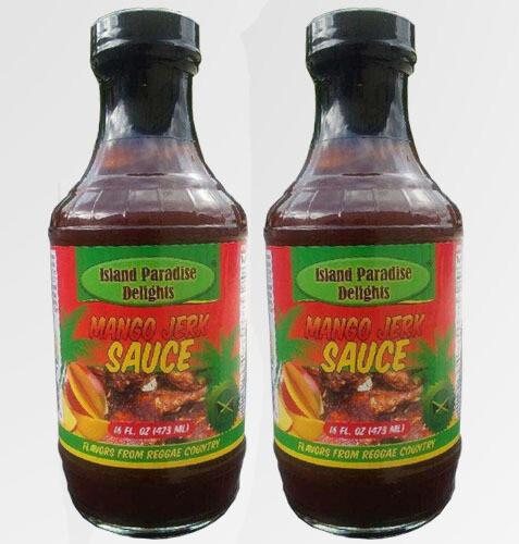 Jamaican Mango Jerk Sauce and Marinade - (2 Pack)