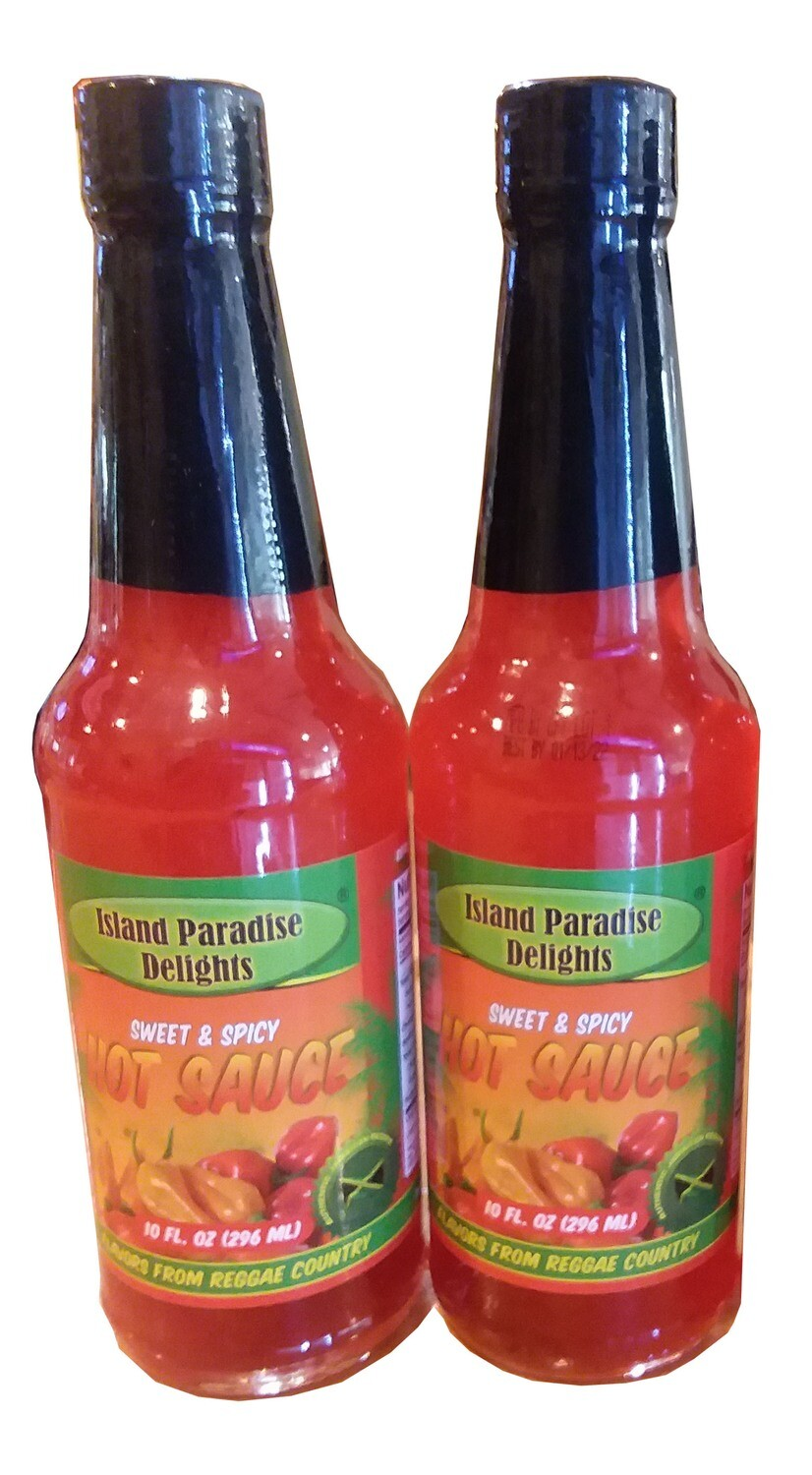 Jamaican Sweet & Spicy Hot Sauce - (2 Pack)