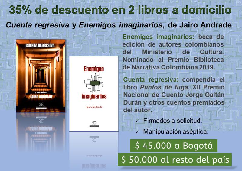 Promoción: 2 libros a domicilio