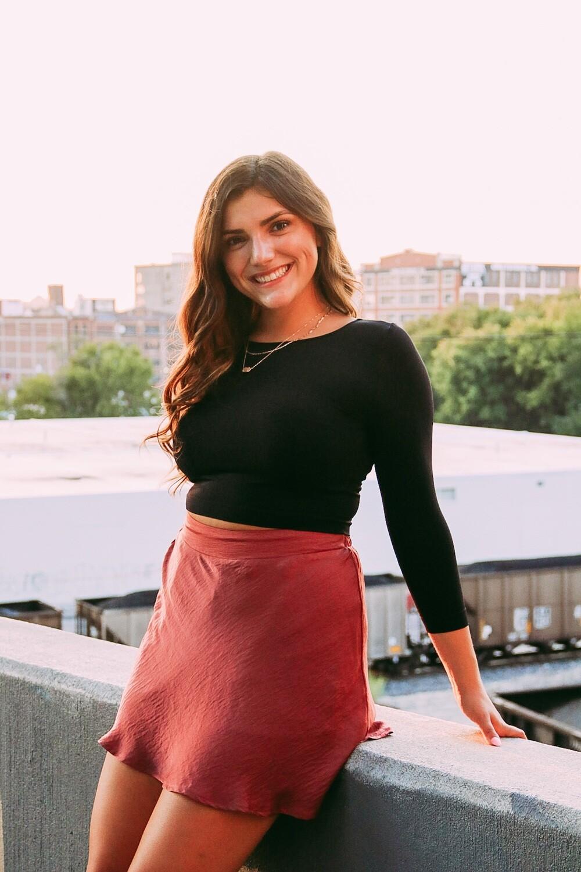 Sienna Satin Skirt
