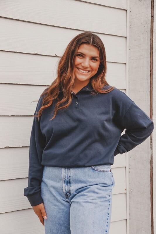 Dark Navy Pullover