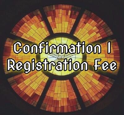 Confirmation I Registration Fee