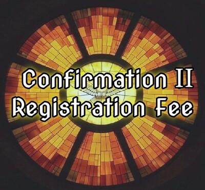 Confirmation 2 Registration Fee