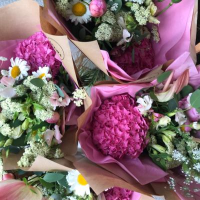 Seasonal Hand Tied Bouquet 15% OFF